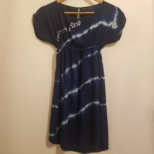 HAND BATIKED AND HAND TIE DYED DRESS